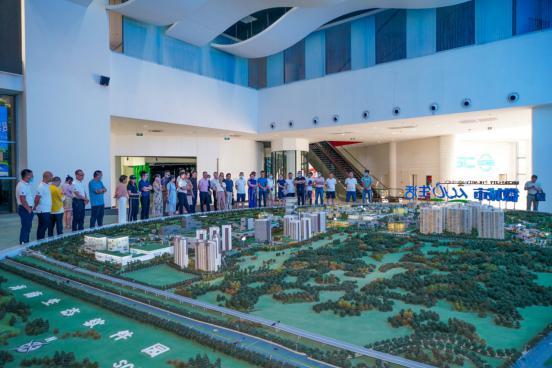博享科技入驻海南自贸区(港)并召开区块链经济座谈会